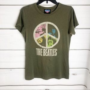Junk Food | Beatles - Peace Sign Graphic Tee